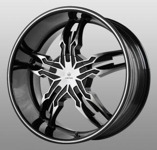 20 inch Verde Thorax Black Wheels Rims 5x112 Audi TTS Q5 Crossfire