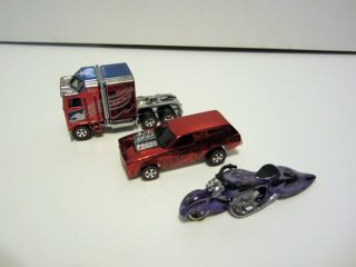 Hot Wheels RLC Lot5 Thunder Roller Poison Pinto w Oozie