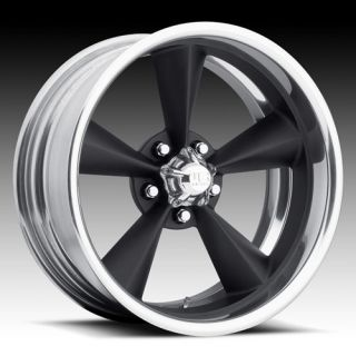 2pc Wheel Set FOOSE Style Rims Painted Black Torque Thrust