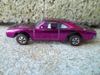 Hot Wheels Redline Custom Charger Magenta Extra Nice Look