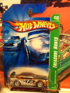 Hot Wheels 2007 122 Treasure Hunt Nissan Skyline 11SU