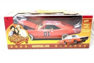 General Lee Dukes of Hazzard 1 25 Chase Car White Wheels