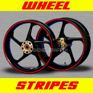 Stripes for 17 Wheels Rim Stipe Decal Tape Suzuki M109R Bike GSX R
