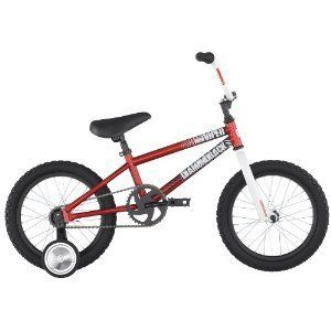 Viper Kids BMX Bike Red 16 Boys Training Wheels Bicycle Cycle