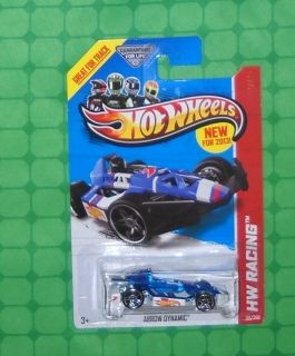 2013 Hot Wheels HW Racing Series Race Team 110 Arrow Dynamic