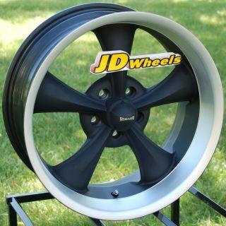 JD Wheels Ridler 695 20x8 5 Matte Black Rim 695 2873MB 5x127 0mm GM
