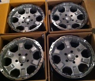 17 Black Rock Wheels Jeep Wrangler JK Grand Cherokee 5x127 Make OFFER