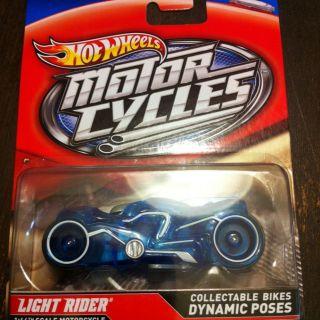 Tron Unofficial Hot Wheels Light Rider Mattel RARE Motorcycle