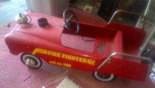 AMF Vintage Pedal Car Firetruck JW2508