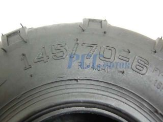 145 70 6 Rear Front Tire 50cc 70 110cc ATV Quad Go Kart TR08