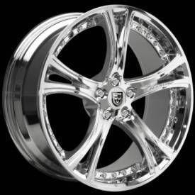 18 x8 inch Lexani LX 149 Chrome Wheels Rims Blank Free Drilling