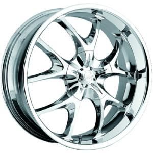 22 Chrome Wheel Voo Doo 412 5x112 Rim Mercedes Benz