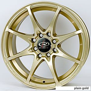 16 Rota Fighter Gold Rims Wheels 16x7 40 5x114 3 Civic Mazda3 SPEED3