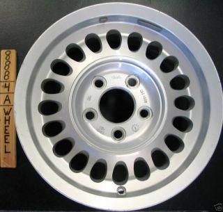 Plas 15 Silver 1988 1992 Aluminum Wheel Rim Jag 20 Hole 59672