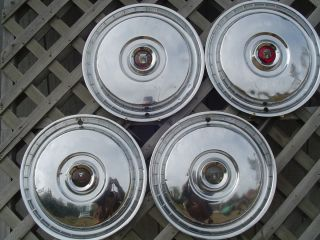 Bird Fairlane Hubcaps Wheel Covers Center Caps Rims