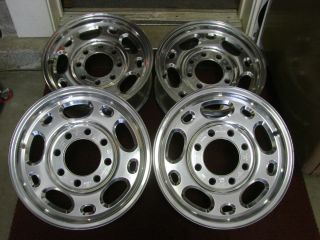 Chevy Silverado GMC 3500 2500 HD 16 Factory Wheels Alloy Rims