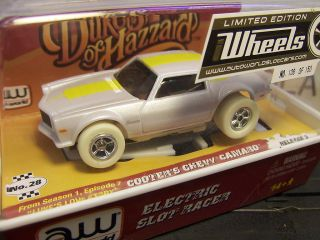 Cooters Camaro HO Slot Car Auto World Iwheels Limited 138 150