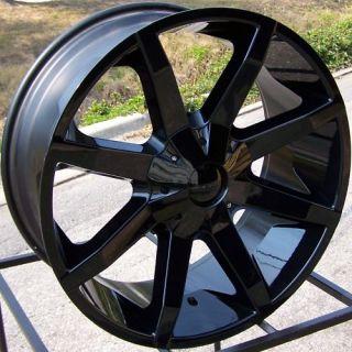 22 KMC Slide Wheels Rim Cadillac Escalade Avalanche Sierra Ford F150
