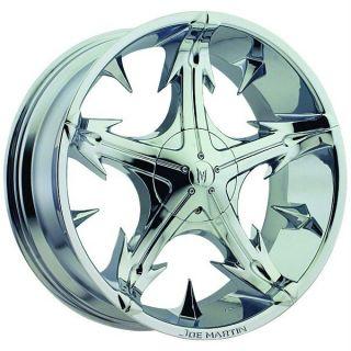 Bros Slickstar Chrome Wheels Rims 6x5 5 6x139 7 SLX Escalade