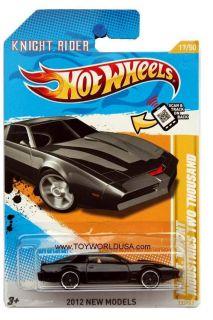 2012 Hot Wheels New Models #17 Knight Rider K.I.T.T. Knight Industries