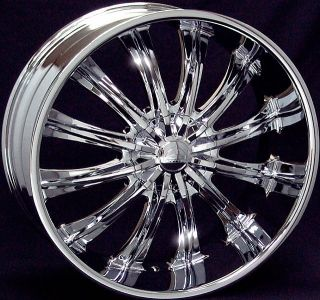 28 inch B15 Chrome Wheels Rims 6x135 Ford Expedtion