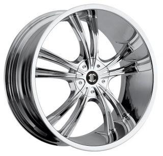 16 inch 2CRAVE NO2 Chrome Wheels Rims 5x120 BMW 1 Series 3 Series Z3
