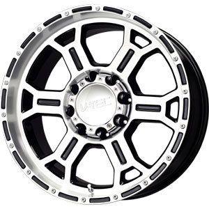 New 22x9 5 6x139 7 V Tec Raptor Black Wheels Rims