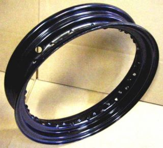 16 Wheel Rim 4 Harley Black Powdercoat Knucklehead