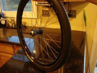 BMX 24 Race Wheel Set TI Spokes Sun Envy Rims Cruiser Wheels