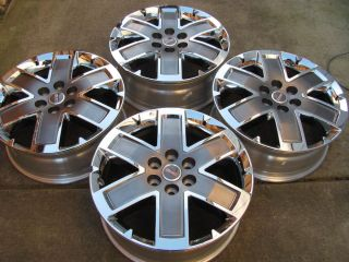 2012 20 GMC Acadia Denali Chrome Clad Factory Wheels