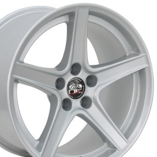 18 Rim Fits Mustang® Saleen Wheel Silver 18x10