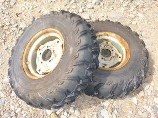 Simplicity 3415 s Tractor Kenda 25x10 00 12 Rear Tires Rims