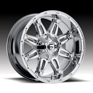MHT Fuel Hostage 6x135 6x5 5 Et 12 Chrome Wheels 4 New Rims