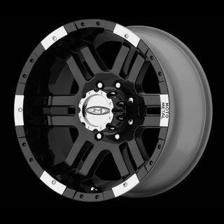 18 inch Moto Metal 951 Black Wheels 6x135 Ford F150 18