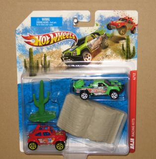HOT WHEELS BAJA RACING KITS GIFT SET VOLKSWAGEN BUG & OFF TRACK DESERT