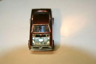 Vintage 1967 Hot Wheels Redline Custom Barracuda in Copper Original