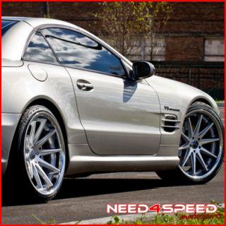 Benz R129 SL500 SL600 SL Rohana RC10 Concave Silver Wheels Rims