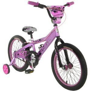 Mongoose Lark Girls Bike 18 Inch Wheels New Kids Accessories Scooters