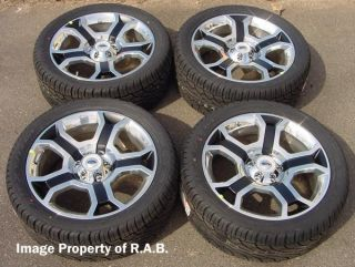 Ford F150 22 Harley wheels with TIRES, also fit Expedition, Navigator