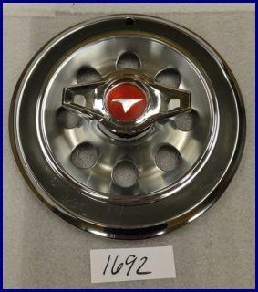 1965 65 Buick Special Skylark 14 Hubcap Hub Cap w Spinner 1370098