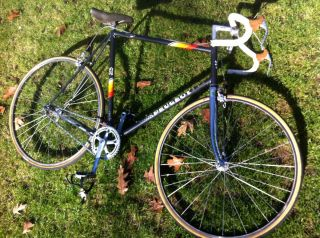 Peugeot Road Bicycle Reynolds 501 Single Speed Specialized Mavic MA40
