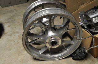 Ninja ZX14 Stock Factory Front Wheel 2006 2007 2008 2009 2010 Rim