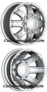 Ultra Wheels 024 Gauntlet Dually 8x6 5 17 Chr Chevy Dodge Dually