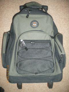 Jeep Back Pack Wheels Rolling Backpack 21 Bookbag Travel Bag