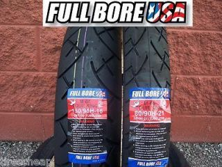Two Tire Motorcycle Set 80 90 21 Front 130 90 16 Rear Full Bore Tour