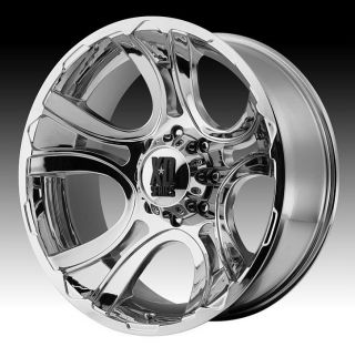 17 inch 17x9 XD Chrome Wheels Rims 6x135 Ford F 150 Expedition