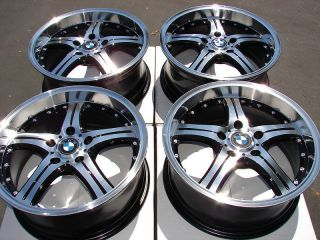Polished Lip Wheels BMW 323 325 128 135 330 318 328 330 Z4 5 Lug Rims
