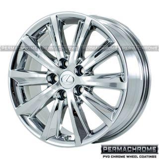 Lexus ES350 Ultra Luxury 17 PVD Chrome Wheels