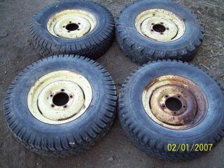 Willys Jeep Original Rims Wheels CJ2A CJ3B M38 M38A 15 Nice Matching