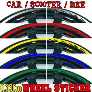 Tape Sticker Motorcycle Car Scooter Bike Rim Stripe 0 35cm